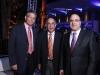 Alberto Espaillat, Adolfo Camarena y Samir Rizek