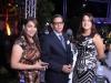 Frandia Marte, Genry Lizardo y Laura Herrera